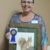 Talented Roberta Kime was chosen as GVAL's November Artist of the Month! Congratulations, Roberta on your detailed, realistic squirrel created in colored pencil!